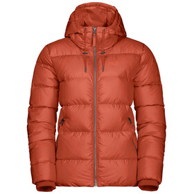 Jack Wolfskin Crystal Palace Jakke Damer, saffron orange